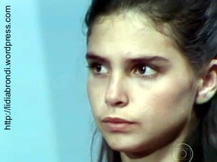 """Cena de Lídia na novela """"À Sombra dos Laranjais"""" (1977)"""