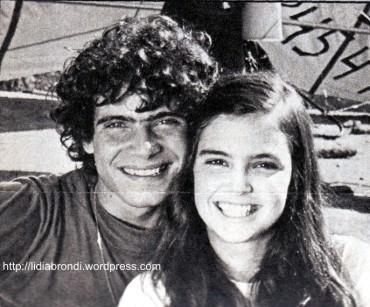 Anos 70 - Lidia e Lauro Corona