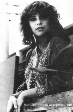 """Lídia Brondi, em 1979, na época  da novela """"Os Gigantes""""."""