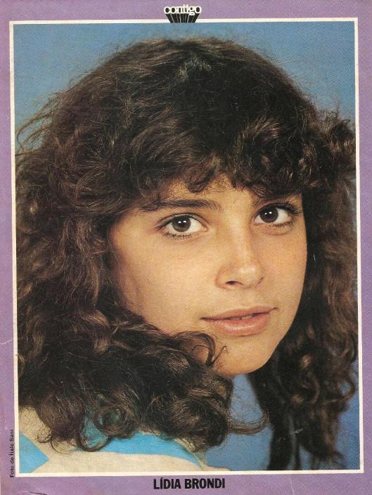 Lídia Brondi em 1979. Foto de Ítalo Sano.