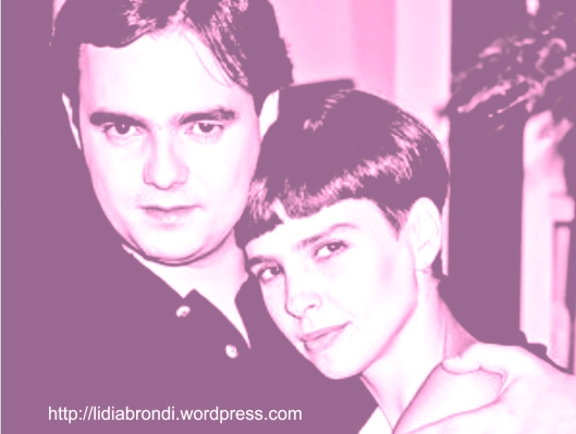 Lídia Brondi e Cássio Gabus - 1991 - MBMM
