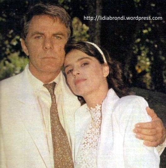 Reginaldo Faria e Lídia Brondi fizeram mais uma parceria de sucesso na TV.